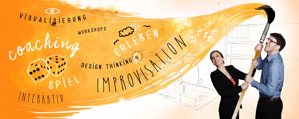 MD Slider Unsere Methoden Improvisation Coaching Workshops Design Thinking