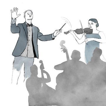 Vertrauen als Führungskultur Dirigent Orchester